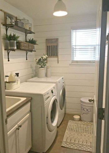 Trend small laundry room design ideas that you can try 06