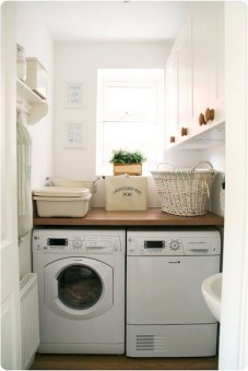 Trend small laundry room design ideas that you can try 07