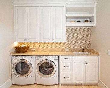 Trend small laundry room design ideas that you can try 10