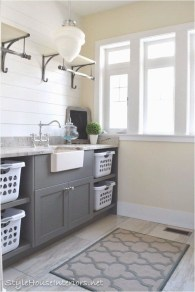 Trend small laundry room design ideas that you can try 13
