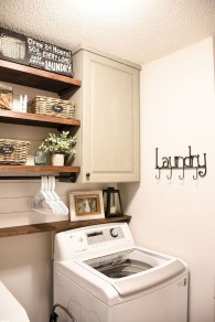 Trend small laundry room design ideas that you can try 28