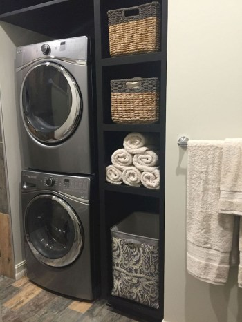 Trend small laundry room design ideas that you can try 32