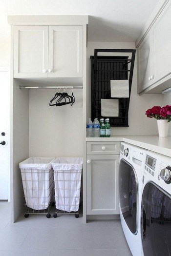 Trend small laundry room design ideas that you can try 33