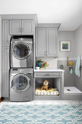 Trend small laundry room design ideas that you can try 34
