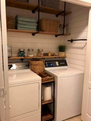 Trend small laundry room design ideas that you can try 42