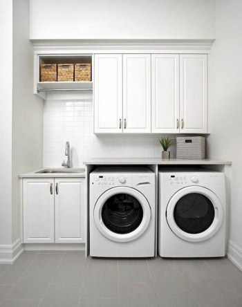 Trend small laundry room design ideas that you can try 51