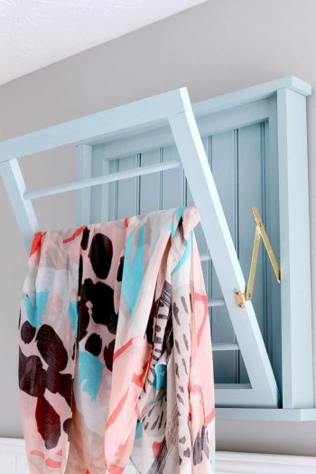 Drying rack design ideas that you can try 13