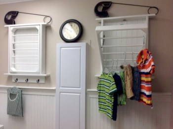 Drying rack design ideas that you can try 18