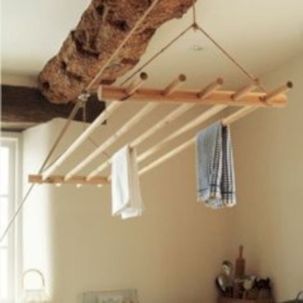 Drying rack design ideas that you can try 32