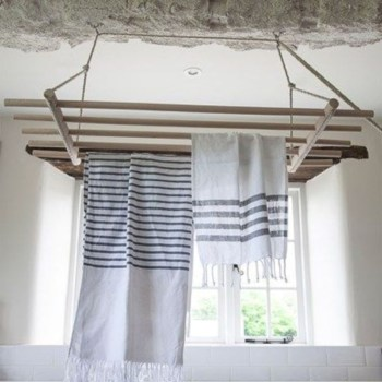 Drying rack design ideas that you can try 33