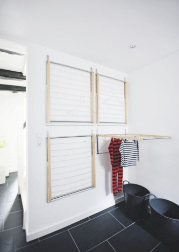 Drying rack design ideas that you can try 40