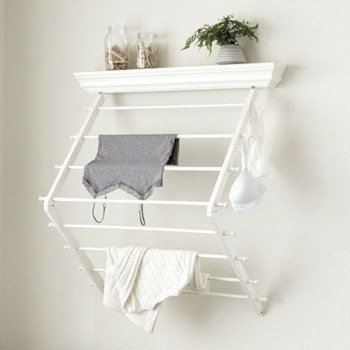 Drying rack design ideas that you can try 43