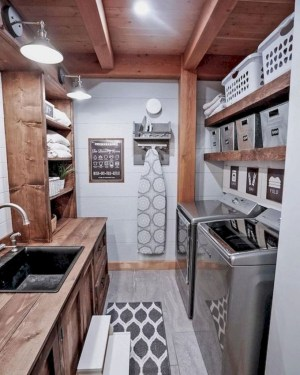 Inspiring small laundry room design ideas in spring 2019 06