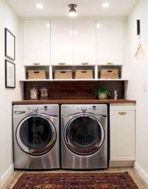 Inspiring small laundry room design ideas in spring 2019 09
