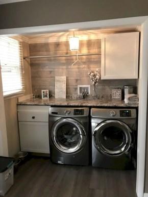 Inspiring small laundry room design ideas in spring 2019 17