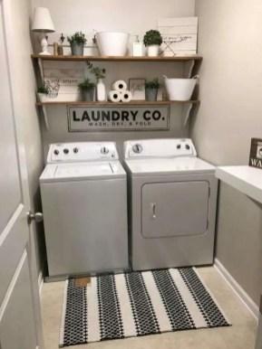 Inspiring small laundry room design ideas in spring 2019 18