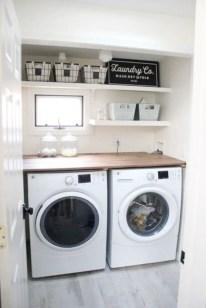 Inspiring small laundry room design ideas in spring 2019 28