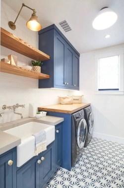Inspiring small laundry room design ideas in spring 2019 43