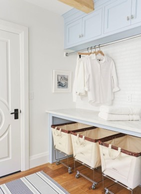 Laundry design ideas with drying room that you must try 07