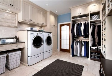 Laundry design ideas with drying room that you must try 13