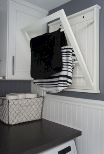 Laundry design ideas with drying room that you must try 31