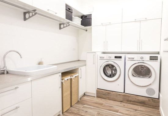 Laundry design ideas with drying room that you must try 33