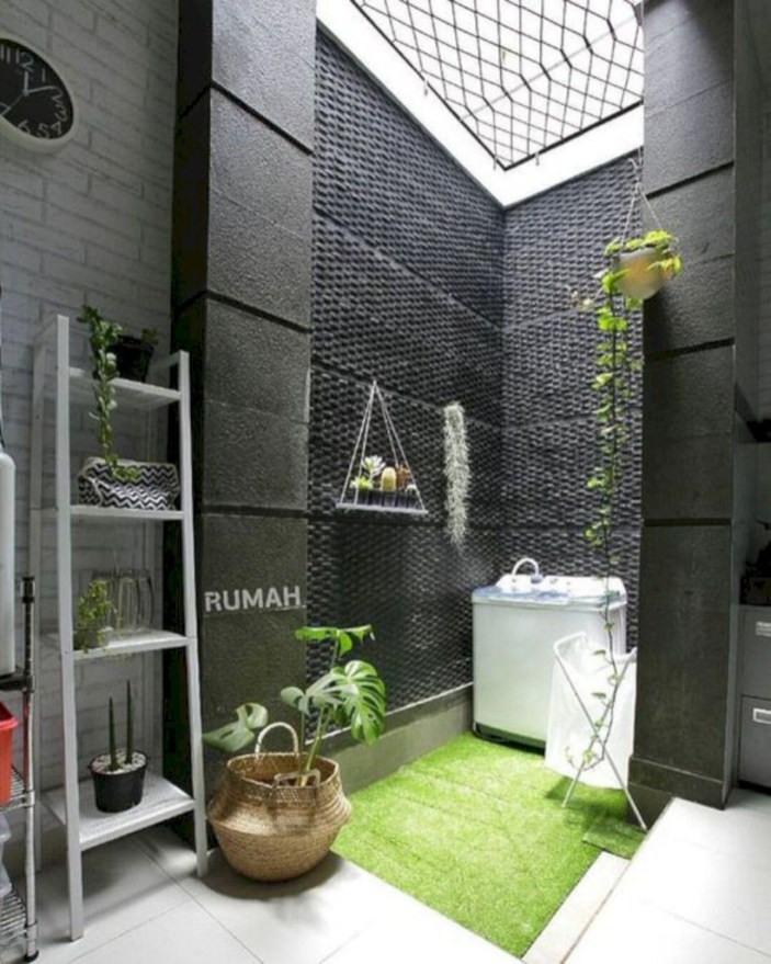 Laundry design ideas with drying room that you must try 35