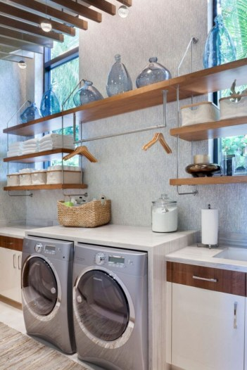 Laundry design ideas with drying room that you must try 43