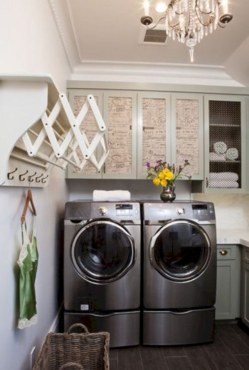 Laundry design ideas with drying room that you must try 53