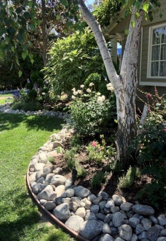 Best front yard design ideas for summer in your home 37