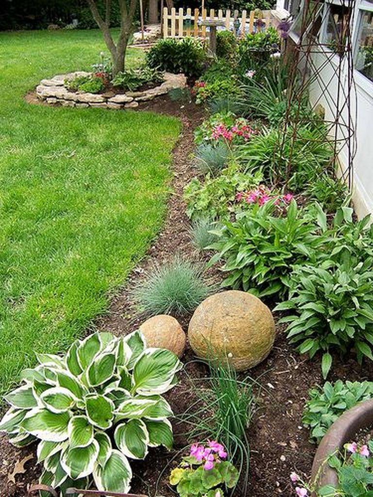 Best front yard design ideas for summer in your home 50