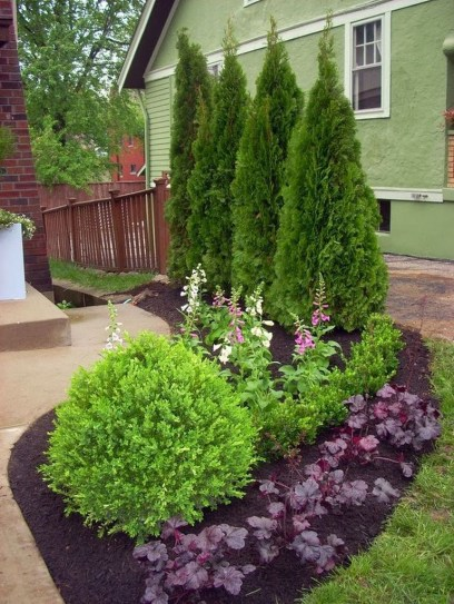 Best front yard design ideas for summer in your home 54