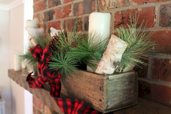 Inspiring wooden box ideas for flower that you can try 26