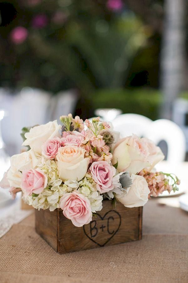 Inspiring wooden box ideas for flower that you can try 27