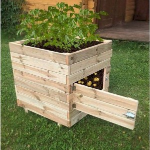 Inspiring wooden box ideas for flower that you can try 30