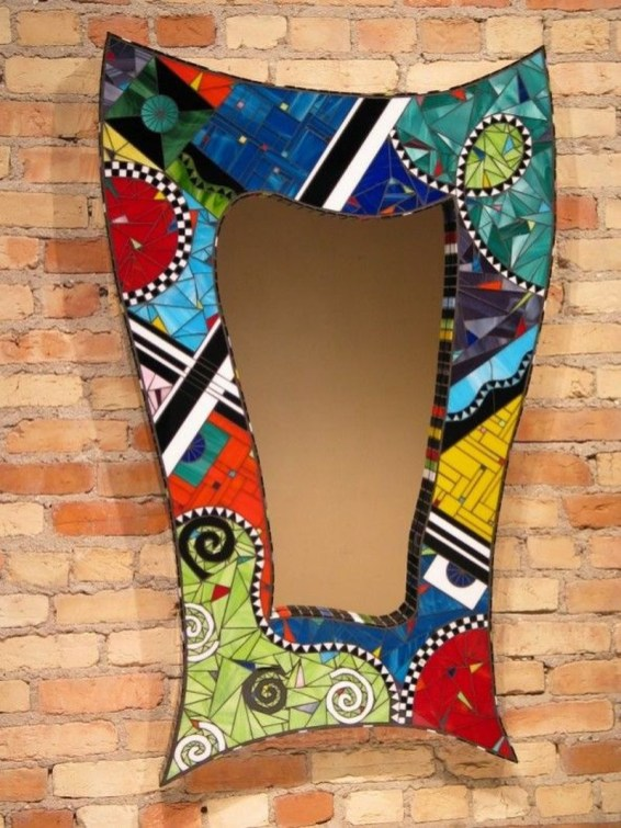 Adorable diy mosaic craft ideas to beautify your home decoration 16