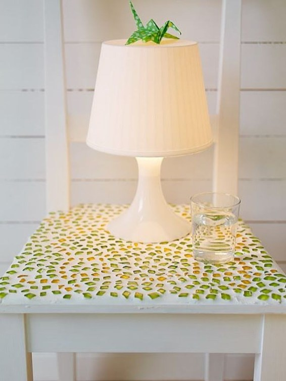 Adorable diy mosaic craft ideas to beautify your home decoration 17
