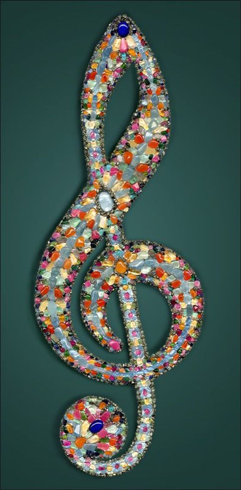 Adorable diy mosaic craft ideas to beautify your home decoration 30