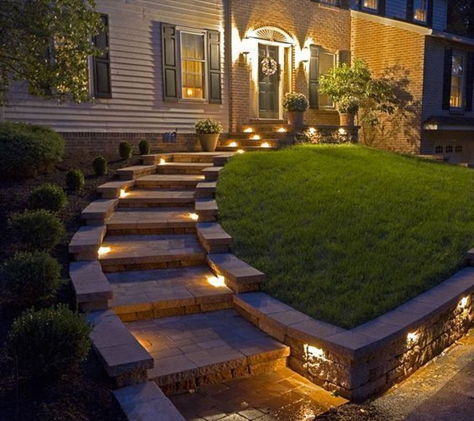 Adorable front yard lighting ideas for your summer night vibe 18