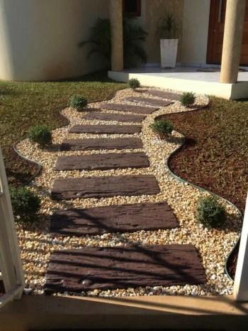 On budget garden walk path ideas for an easy movement around the garden 08