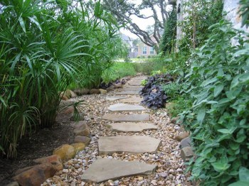 On budget garden walk path ideas for an easy movement around the garden 09