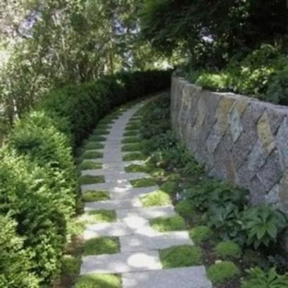 On budget garden walk path ideas for an easy movement around the garden 14