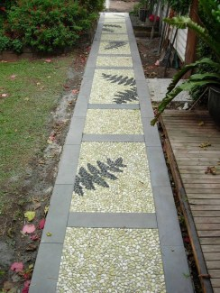 On budget garden walk path ideas for an easy movement around the garden 22
