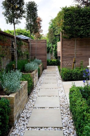 On budget garden walk path ideas for an easy movement around the garden 40