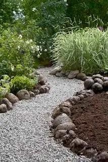 On budget garden walk path ideas for an easy movement around the garden 43