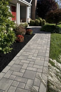 On budget garden walk path ideas for an easy movement around the garden 45