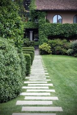 On budget garden walk path ideas for an easy movement around the garden 55
