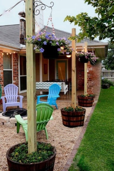 Simple patio design ideas to really enjoy your outdoor relaxing moment 26