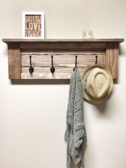 Wooden rack ideas to be applied into any home styles for a warmer room impression 16