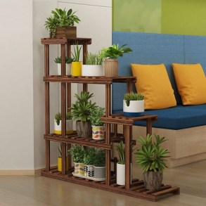 Wooden rack ideas to be applied into any home styles for a warmer room impression 23